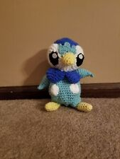 Piplup- Handmade Crochet Pokemon Plush Toy MADE TO ORDER
