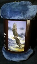 "Soaring Eagle Throw Blanket Rachelle Super Soft Extra Long Plush Throw 40"" x 68"""
