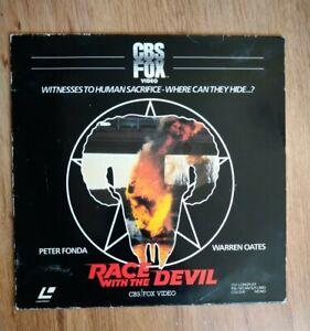 Race With The Devil 1982 Pre Cert LaserDisc