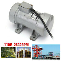 110V 0.28kw Electric Concrete Vibrator Table Vibrating Motor Heavy Duty Tool New
