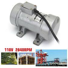 110V 0.28kw Electric Concrete Vibrator Table Vibrating Motor Heavy Duty Tool Us