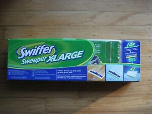 Swiffer Sweeper X-large & Mops up Dust & Dirt in Large Area Fast / NEW in Box