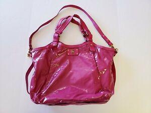 Marc Jacobs Tote Hobo Shoulder Bag Pink Purse Adjustable Straps l