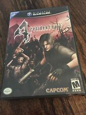 Resident Evil 4 Nintendo GameCube Game With Manual + Both Disks Tested Works G1