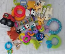 Colourful Baby Toy Lot Rattles