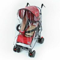 Universal Strollers Pushchair Baby Carriage Waterproof Cover Windshield Stroller