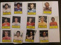 Lot + de 85 Vignettes différentes FOOTBALL 75/76, Reims, Monaco, lens ,Lille