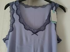M&S Sleepwear Lilac Sleeveless Top Size UK 18 BRAND NEW WITH TAGS