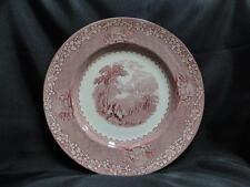 "Royal Staffordshire Jenny Lind Pink, Scene: Dinner Plate (s), 10"""