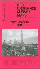OLD ORDNANCE SURVEY MAP NEW TREDEGAR 1899