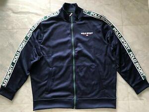 NWT POLO Ralph Lauren Polo Sport Performance Tricot Fleece Jacket - XL  (Navy)