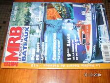 MRB n°415 Coques Ligne flotaison Chaloupe