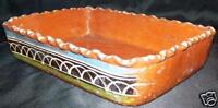 LG Vintage Pottery Dish Hand Painted Crafted