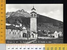 45737] VERBANIA - CRAVEGNA - LA PARROCCHIALE - SFONDO M. CISTELLA