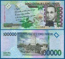 St. Thomas & Prince 100.000 Dobras 2005 UNC p.69