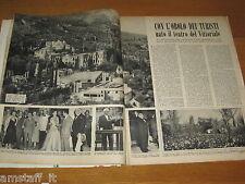 RIVISTA EPOCA 1953/150=GARDONE TEATRO VITTORIALE=ARTICOLO FOTO=