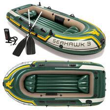 INTEX Seahawk 3 Set Schlauchboot + Paddel + Pumpe Angelboot 3 Personen B-Ware