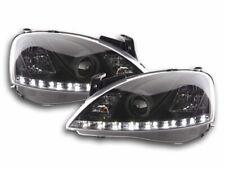 Coppia fanali Daylight Opel Corsa C Anno: 01-06 nero