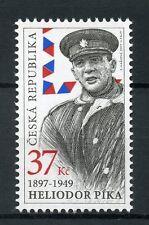 Czech Rep 2017 MNH WWII WW2 Army General Heliodor Pika 1v Set Military Stamps