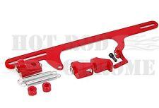 Throttle Cable Bracket 4500 Dominator Carburetor Aluminum Red