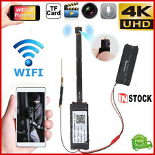 Mini Wireless WIFI IP Camera Hidden Home Surveillance Camcorder US STOCK 4K HD