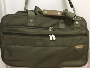 """HIGGENS & RILEY Carry On Laptop Luggage Briefcase VALISE Bag 12"""" x 20"""""""