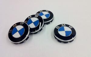 BMW ALLOY WHEEL CENTRE HUB CAPS x4 68mm 1/2/3/4/5 series