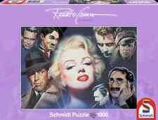 SCHMIDT JIGSAW PUZZLE MARILYN MONROE AND FRIENDS RENATO CASARO 1000 PCS #57550