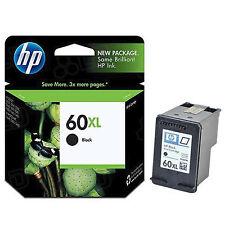 NEW IN BOX 2018 Genuine HP 60XL Black Ink C4650 C4640 C4635 C4610 C4600 120
