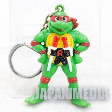 Retro RARE TMNT Teenage Mutant Ninja Turtles Raphael Figure Key Chain 1995