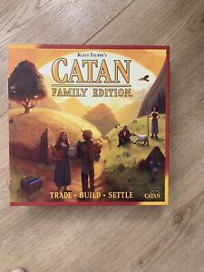 Catan Family Edition Strategy Board Game 100% Complete