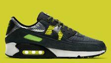 Nike Air Max 90 X 3M Para Hombre Gris Negro Volt Blanco Zapatillas Zapatos entrenador todos los tamaños