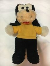 Vintage Knickerbocker Disney Goofy Plush Dog Bean Bag Stuffed Animal Rare Walt