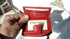 Osgoode Marley 2607 Red Leather Mini Wallet