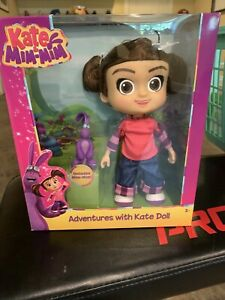 Just Play Adventures With Kate Doll And Mim-Mim Figure VHTF Retired New Sealed
