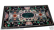 4'x2' Marble Dining Table Top Mosaic Pietradura Inlay Decor Christmas Furniture