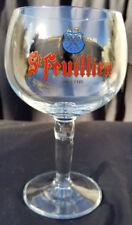 St Feuillien Anno 1125 Stemmed 0.33CL Belgian Abbaye Abdij Beer Glass NEW!