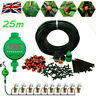 25M Micro Drip Irrigation Auto Timer DIY Self Plant Watering  Garden Hose System