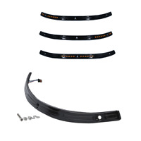 3Slots CNC Fairing Windshield Trim for Harley Touring Street Glide FLHTC 06-2013