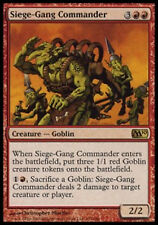 MRM FRENCH Commandant des assiégeants ( Siege-gang Commander) MTG magic M10-15
