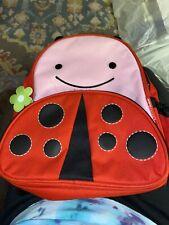 Skip Hop Ladybug Kids Backpack Red Pink Black