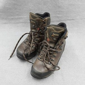 Meindl Pflege II leather hiking boots with Gore Tex size 6.5/40