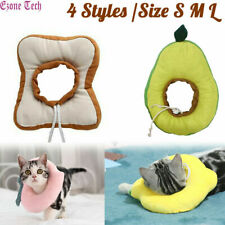 Pet Dog Cat Recovery Collar Anti-bite Peach/Lemon/Avocado/Toast Soft Neck Cone
