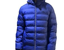 TOKYO LAUNDRY MENS SAPPHIRE HABECK PUFFER JACKET LARGE