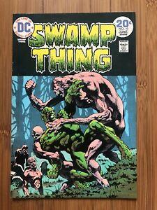 SWAMP THING #10 (1974) VF/NM DC COMICS BERNIE WRIGHTSON, LEN WEIN