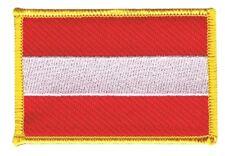 Österreich Aufnäher Flaggen Fahnen Patch Aufbügler 8x6cm