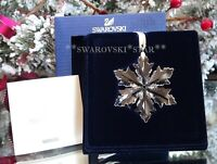 2014 MIB SWAROVSKI ANNUAL LITTLE CHRISTMAS ORNAMENT STAR/SNOWFLAKE #5059028