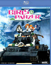 BLU-RAY Girls & Panzer: Complete TV Series (Blu-Ray) NEW