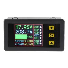Digital Multimeter Charge-Discharge Tester Battery DC 0-90V 0-20A Volt Amp Meter