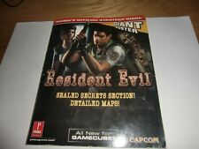 Resident Evil Prima Official Strategy Guide Nintendo Gamecube